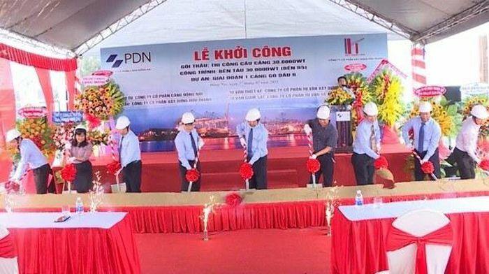 Đồng Nai: Khởi công xây dựng bến tàu 111 tỷ đồng ở cảng Gò Dầu