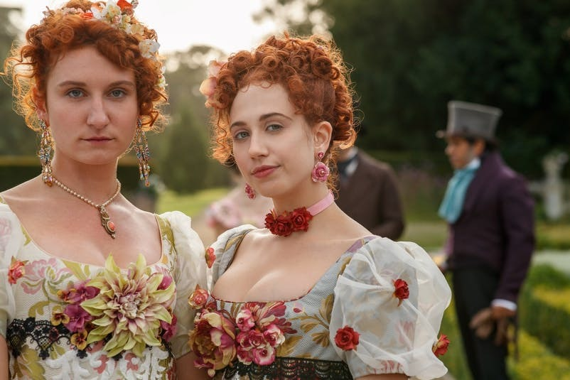 Choáng ngợp về thời trang trong phim Bridgerton