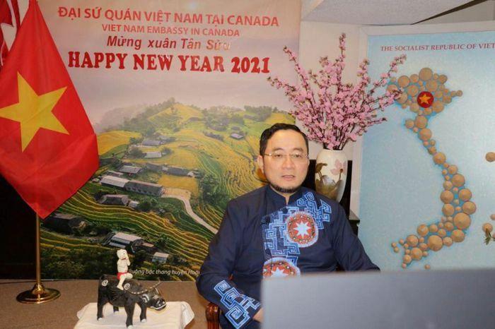 Đại sứ quán Việt Nam tại Canada tổ chức Tết Tân Sửu 2021 trực tuyến