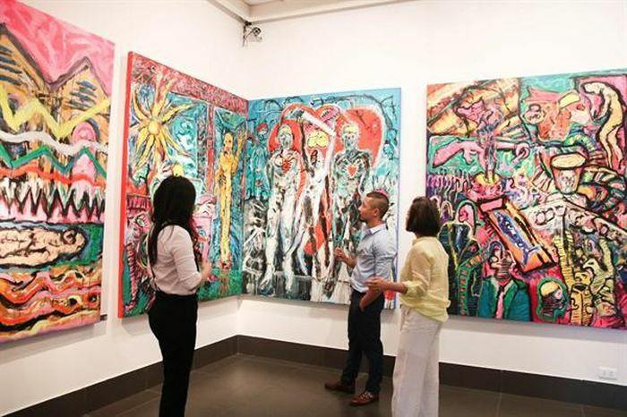 """Triển lãm Pink Eyes – """"Đôi mắt hồng"""" tại Bảo tàng Mỹ thuật Việt Nam"""