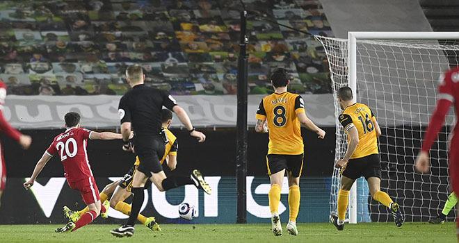 Wolves 0-1 Liverpool: Người cũ tỏa sáng, Liverpool lọt vào Top 6