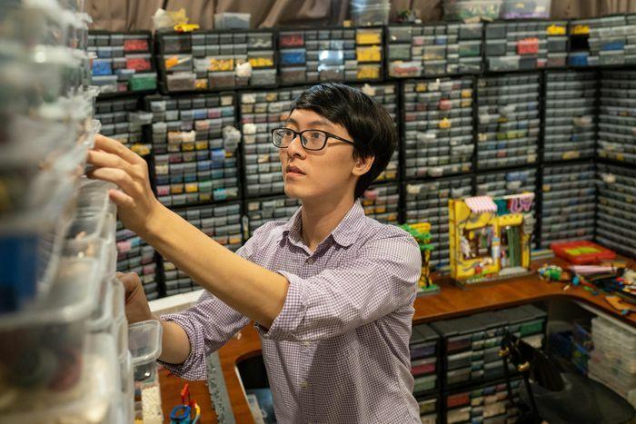 Chàng kỹ sư sở hữu bộ sưu tập hàng nghìn mẫu Lego