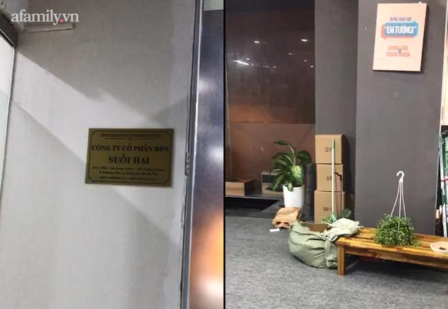 """Vụ """"chung cư thủng"""" ở Hà Nội khiến nữ giám đốc và nhân viên rơi từ tầng 2 xuống đất: Các nạn nhân đã tỉnh táo"""