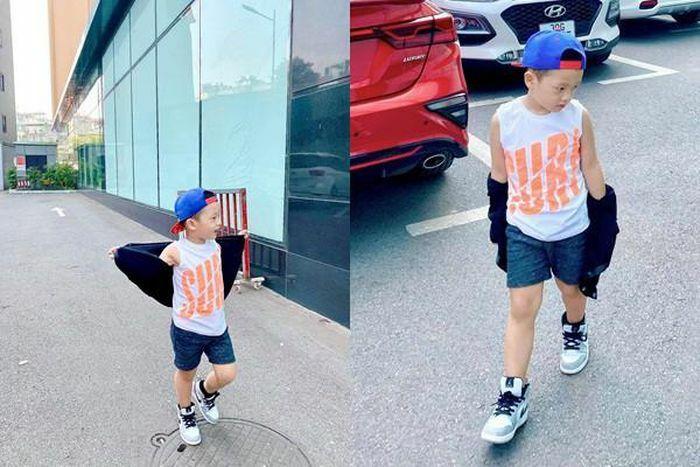 Con trai Ly Kute chuẩn hot boy với ngoại hình gây bất ngờ