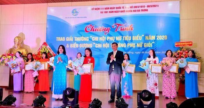 """Đà Nẵng: Trao giải """"Chi hội phụ nữ tiêu biểu"""""""