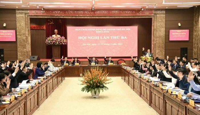 Ban Chấp hành Đảng bộ thành phố Hà Nội xem xét, thông qua 10 chương trình công tác toàn khóa