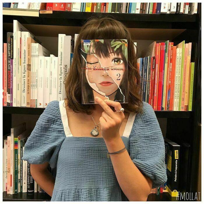 Giới trẻ hào hứng tham gia thử thách #bookface