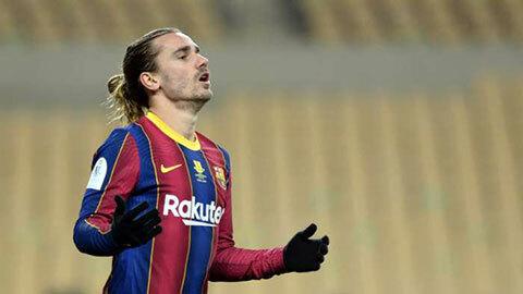 Griezmann không phục việc Barca bị loại khỏi Champions League