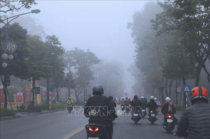 Từ 13 – 19/3, Bắc Bộ và Trung Bộ xuất hiện sương mù vào sáng sớm