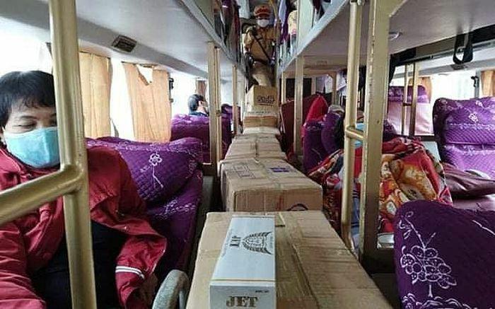 CSGT bắt giữ vụ vận chuyển hàng ngàn bao thuốc lá lậu
