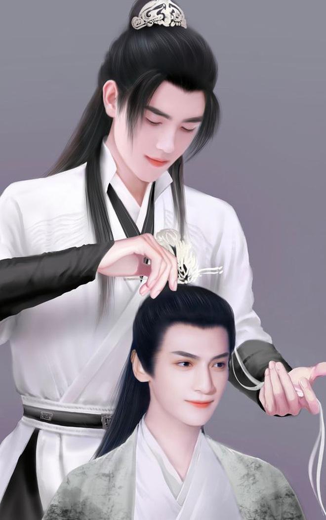 """Hóa ra Hạo Y Hành lại là Hoa Thiên Cốt phiên bản đam mỹ, netizen giật mình """"so sánh duyên ghê"""""""