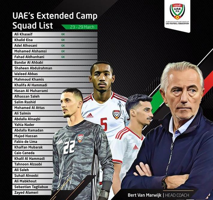 Nhận định UAE vs Ấn Độ: Kình địch của ĐT Việt Nam xuất trận