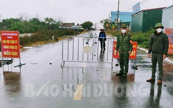 Hải Dương: Từ 3/3, huyện Cẩm Giàng, Kim Thành vẫn phong tỏa, cách ly y tế hàng chục thôn