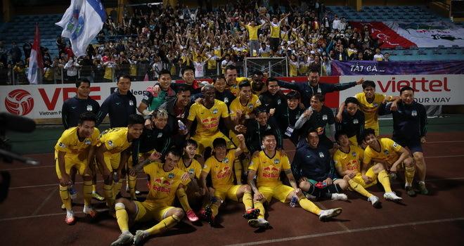 HAGL dẫu đầu V-League sau 5 năm: Không còn đá cho vui