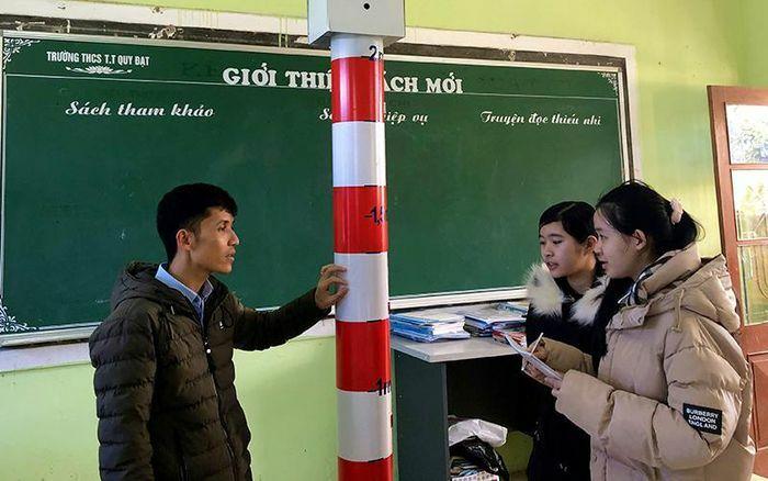 Sáng tạo của học sinh vùng lũ Quảng Bình