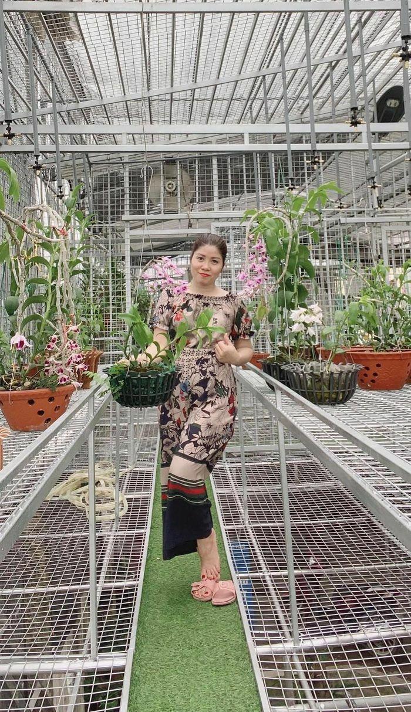 Trần Thị Hương: Bà chủ vườn lan 8x trong giới chơi lan đột biến