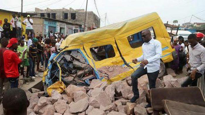 Tai nạn giao thông nghiêm trọng tại Congo
