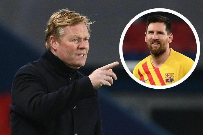 HLV Koeman mừng ra mặt vì Messi chơi thăng hoa