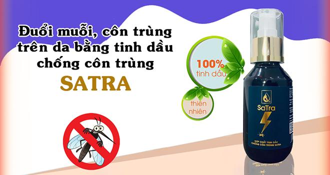 Mua tinh dầu chống côn trùng Satra ở đâu?