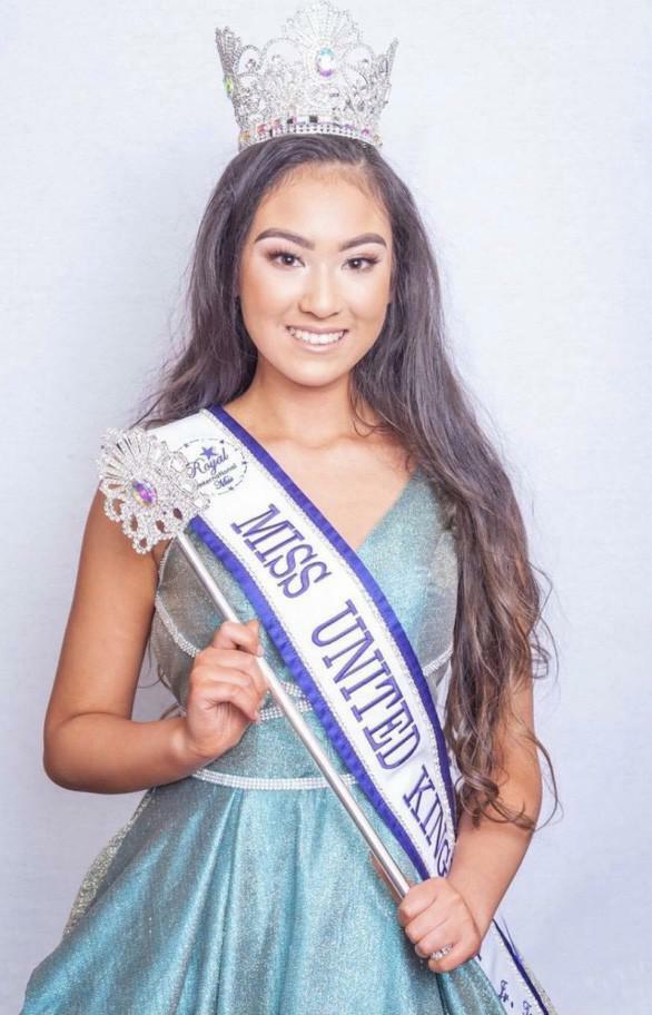 Thiếu nữ 16 tuổi gốc Việt đăng quang cuộc thi sắc đẹp ở Anh