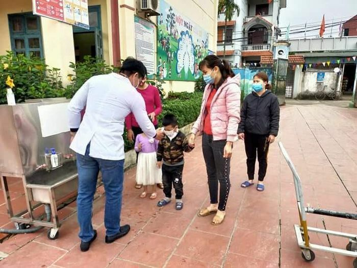 Huyện Thanh Oai đón học sinh trở lại trường trong môi trường giáo dục an toàn