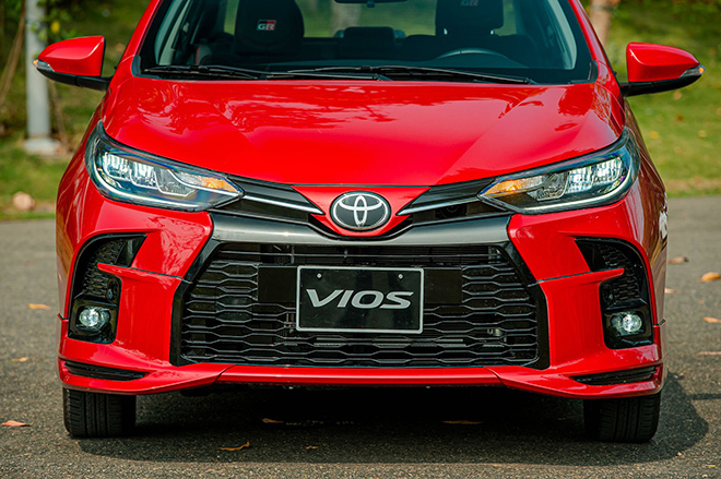 Đánh giá nhanh Toyota Vios 2021 phiên bản thể thao GR-S