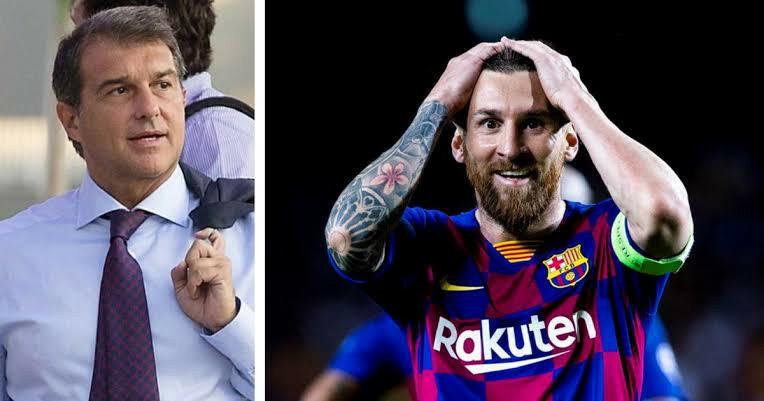 Joan Laporta đắc cử, Leo Messi chúc mừng