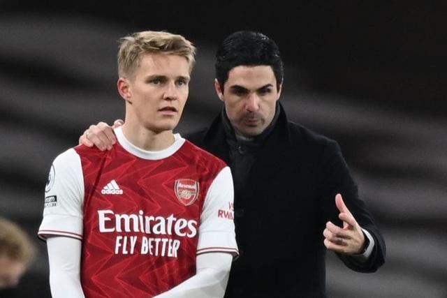Martin Odegaard tin tưởng Arsenal sẽ sớm trở lại top đầu