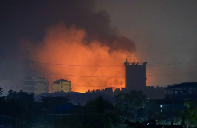 Nhà đầu tư Trung Quốc bất an khi hàng loạt nhà máy bị đốt phá tại Myanmar