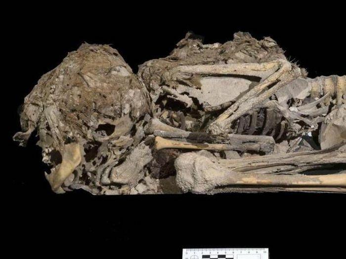Tìm thấy hài cốt bé gái 6.000 năm tuổi còn da, gân, tóc