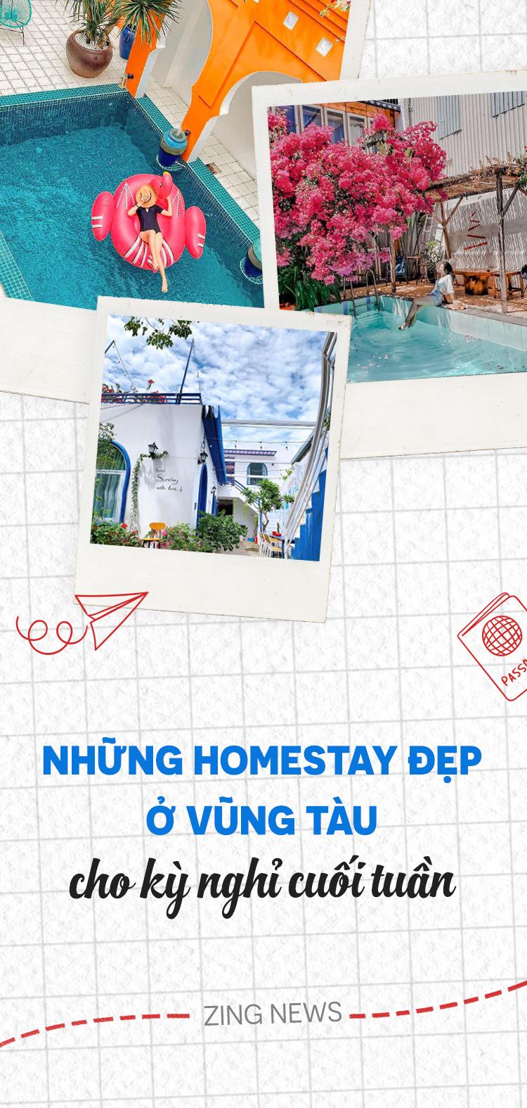 Homestay đẹp ở Vũng Tàu cho kỳ nghỉ cuối tuần