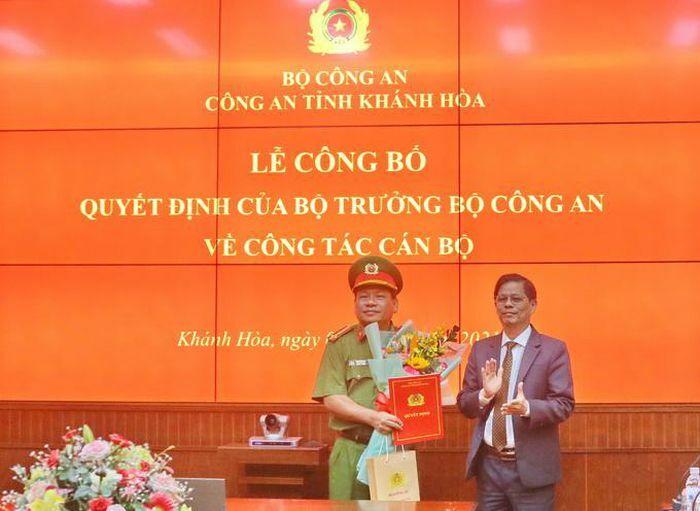 Công bố quyết định nghỉ công tác chờ hưu đối với Đại tá Võ Văn Dũng – Phó Giám đốc Công an tỉnh Khánh Hòa