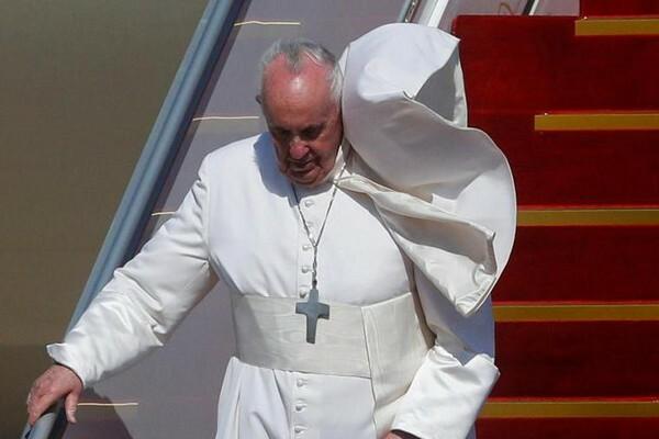 [ẢNH] Cận cảnh chuyến công du lịch sử của Giáo hoàng Francis tới Iraq