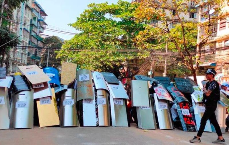 Thêm ít nhất 12 người chết trong các cuộc biểu tình ở Myanmar