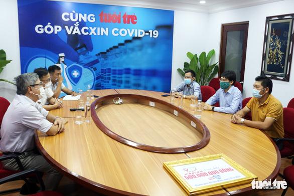 """Vinacam ủng hộ 500 triệu cho chương trình """"Cùng Tuổi Trẻ góp vắc xin COVID-19"""""""