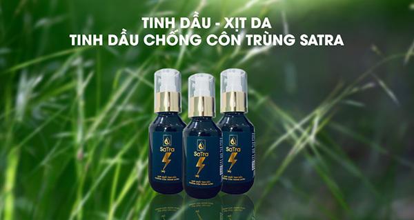 Tinh dầu chống côn trùng Satra có gì đặc biệt?