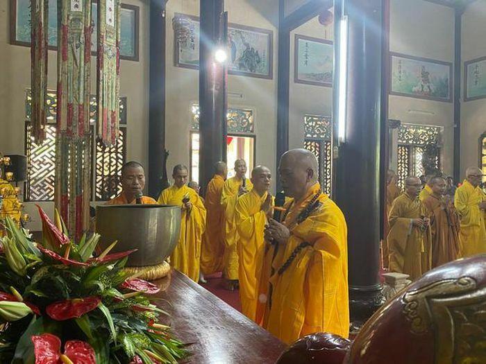 Quảng Trị: Lễ húy nhật Tổ sư khai sơn tổ đình Sắc Tứ Tịnh Quang