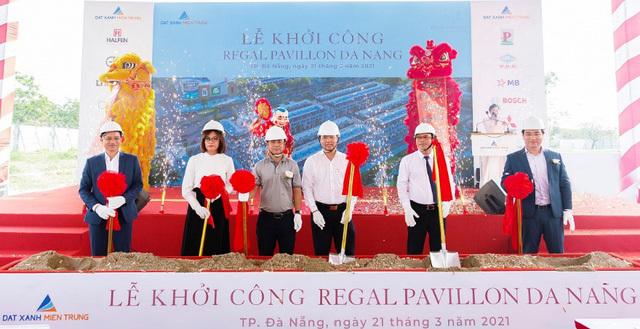 Đất Xanh Miền Trung phát triển shophouse chuẩn quốc tế Regal Pavillon
