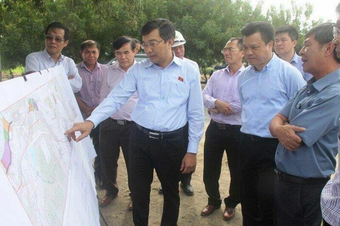 Sớm thống nhất di dời đường dây điện trên tuyến cao tốc Cam Lâm – Vĩnh Hảo