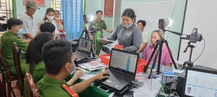 Kiên Giang đẩy nhanh tiến độ cấp căn cước công dân
