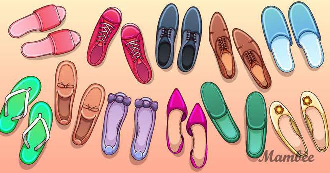 Thách thức thị giác 3 giây: Trong ảnh có một đôi giày không thể đi được, bạn có tìm ra không?