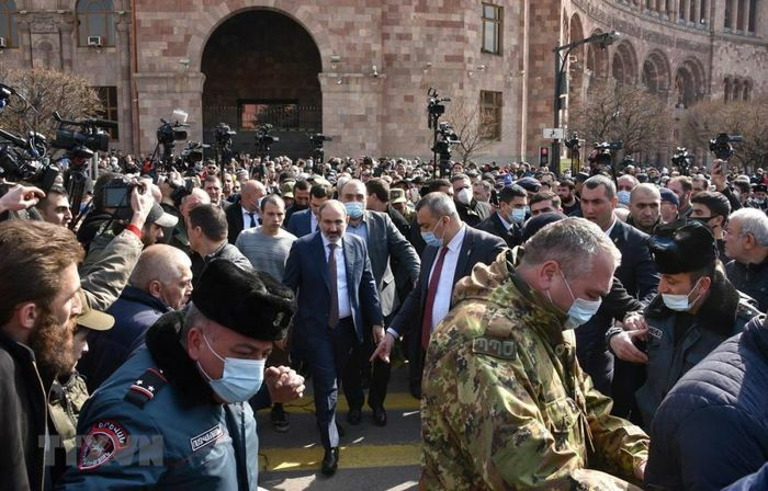 Nga tuyên bố không can thiệp chuyện nội bộ của Armenia