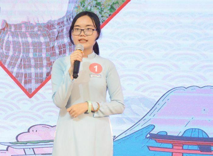 HSSV Đà Nẵng tranh tài cuộc thi hùng biện tiếng Nhật cấp thành phố