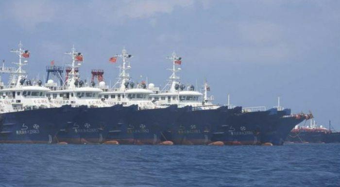 Philippines cáo buộc 200 tàu Trung Quốc neo đậu gần đá Ba Đầu