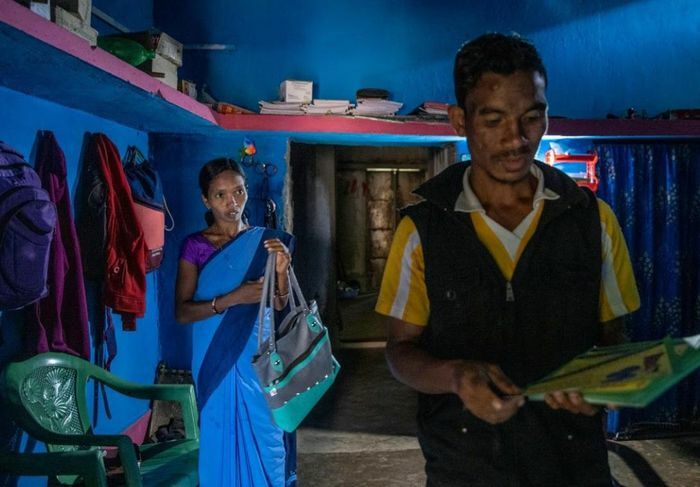 Hành trình 1.700 km đưa vaccine Covid-19 về vùng nông thôn ở Ấn Độ