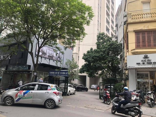 Hà Nội: Nữ giúp việc rơi từ tầng 11 chung cư