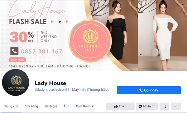 Thời trang Lady House đột phá doanh thu nhờ kinh doanh online