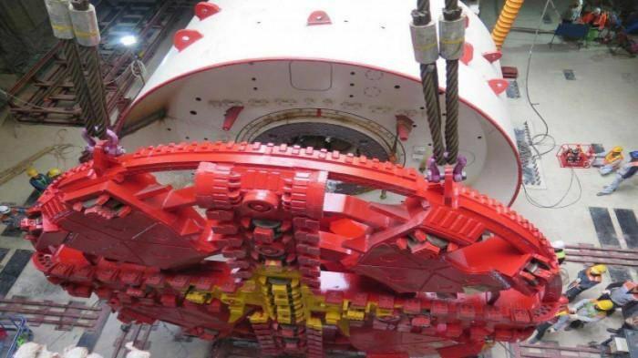 Hoàn thành chạy thử robot đào hầm tuyến Nhổn – ga Hà Nội, sẵn sàng vận hành