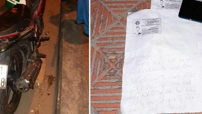 """Nam thanh niên mất tích để lại thư """"ngàn lần xin lỗi ba mẹ"""""""