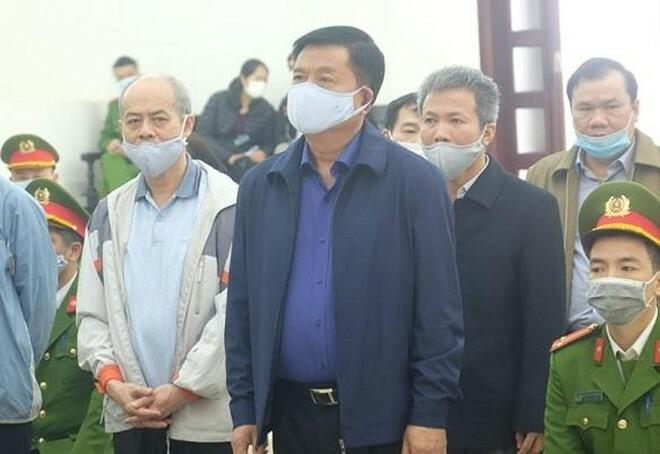 Bị cáo Đinh La Thăng và Trịnh Xuân Thanh tự bào chữa tại phiên tòa